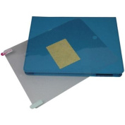 Tri-Fold Blue Folio Case for iPad 3 and 4 with Screen Protector