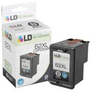 LD Remanufactured Replacement . . For For For For For For For For For For For Hewlett Packard C2P05AN / HP 62XL HY Black Ink Cartridge for HP ENVY 5640, 5642, 5643, 5644, 5646, 5660, 7640, 7645, OfficeJet 57