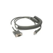 Zebra Serial Data Transfer Cable - Serial - 2.7m - DB-9 Serial