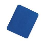 Skilcraft Mouse Pad, Cloth Surface/Rubber, 18cm - 2.2cm x 24cm , Blue
