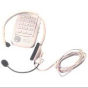 At & t 24079 Lightweight Headset With Boom Microphone