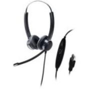 ADDASOUND SR2822 Crystal Noise-Cancelling Binaural Headset