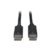 Tripp Lite DisplayPort Cable with Latches - (M/M) 15m