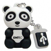 EMTEC Animal Series 4 GB USB 2.0 Flash Drive, Panda