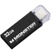 Monster Digital 32gb Usb 3.0 On-the-go Flash Drive - 32 Gb - Black