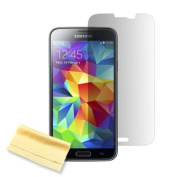 GEARONIC Screen Protector against Dust, Dirt and Scratches for Samsung Galaxy S5
