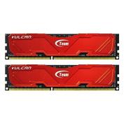 Team Vulcan TLRED316G1600HC9DC01 16GB (2x8GB) DDR3 SDRAM 1600 PC3 12800 Memory