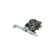 SIIG DP SoundWave - Sound card - 24-bit - 96 kHz - 5.1 - PCIe - CM9862A+CM8826
