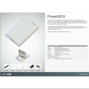 Mikrotik PowerBox 64MB Router 5x10/100 4xPoE-OUT OSL4 Outdoor Case 2W at 24V