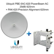 Ubiquiti PBE-5AC-620 PowerBeam AC 29dBi 620mm+ PAK-620 Precision Alignment 620mm