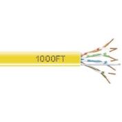 Black Box Corp GigaBase 350 Cat.5e Bulk UTP Cable Bare Wire - Bare Wire - 300m - Yellow