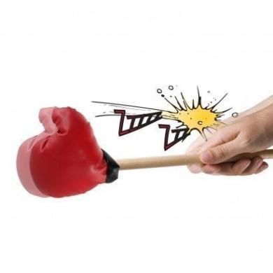Heavy Sleeper Noisy Snoring Partner Boxing Glove Punch Snore No More Gag Practical Joke