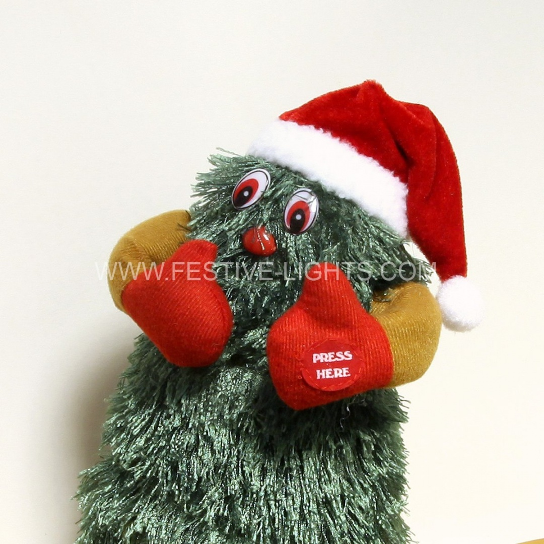 dancing xmas tree 30cm battery operated by christmas decorations shop online for toys in new zealand