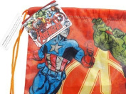 Marvel Avengers PE School Bag Swimming Bag Drawstring Bag Back Pack Shoulder Bag Back To School