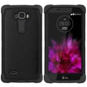 Ballistic Tough Jacket Case for LG G Flex 2, Black/Black