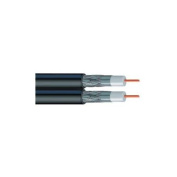 VEXTRA V2621 500 Dual RG6 Solid Copper Coaxial Cable, 150m VEXV2621500