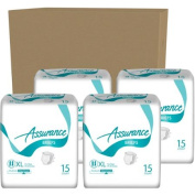 Assurance Maximum Absorbency Briefs, Extra Large, 15 count,