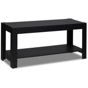 Furinno 12125BK Parsons Entertainment Centre TV Stand/Coffee Table