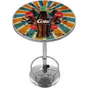 Coca Cola Brazil Colour Splash Coke Bottle Pub Table