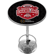 Ohio State University National Champions Chrome Pub Table, Fade
