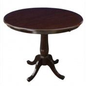 90cm Round Top Pedestal Table, 90cm H
