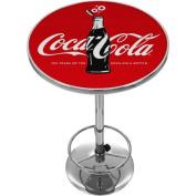 Coca-Cola Chrome Pub Table, 100th Anniversary of the Coca-Cola Bottle