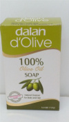8 x Dalan D'Olive 100% Olive Oil Soap for Body & Hair 8 x150g Boxed