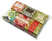 Christmas Holiday Winter Soap Square Gift Set
