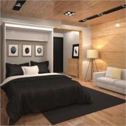 Bestar Versatile 180cm Queen Wall Bed in White