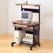 Coaster Mobile Station Computer Desk