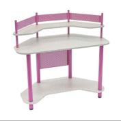 Calico Designs 55122 Study Corner Desk, Pink