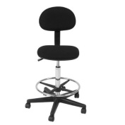 Studio Designs Mid-Back Drafting Chair with Foot Ring