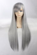 eNilecor 80cm Women's Fashion Long Straight Anime Cosplay Costume Party Wigs
