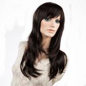 Namecute Long Black wigs