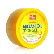 Via Natural Moroccan Argan Oil X3 Edge Gel for Extreme Hold & Brilliant Shine