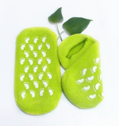 Makhry Moisturising Silicone Gel Heel Socks for Dry Hard Cracked Skin Moisturising Comfy Recovery Socks One Size Fits Most