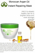 AGRA Cosmetics® Moroccan Argan Oil Instant Repairing Mask 10.2 fl.oz/300 ml