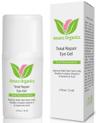 Amara Organics Eye Cream for Dark Circles and Puffiness with Peptides, .150ml