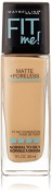 Maybelline New York Fit Me Matte Plus Poreless Foundation Makeup, Buff Beige, 1 Fluid Ounce by Maybeline New York