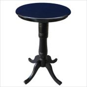 80cm Round Top Pedestal Table, 110cm H