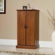 Sauder Orchard Hills Multimedia Storage Cabinet, Milled Cherry