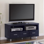 Coaster Bold in Black TV Console for TVs up to 130cm