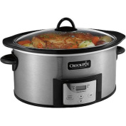 Crock-Pot 5.7l Programmable Slow Cooker with Stovetop-Safe Cooking Pot