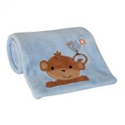 Bedtime Originals Mod Monkey Blanket