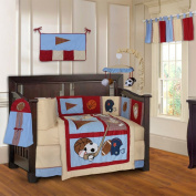 Sports Champion 10 Piece Baby Crib Bedding Set