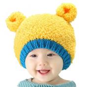 Malloom Baby Boy Girl Infant Winter Earflap Knitted Warm Cap Cute Ear Hat