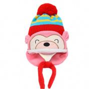 Malloom Winter Kid Baby Boy Girl Ear Flap Cap Thick Knit Beanie Warm Hat