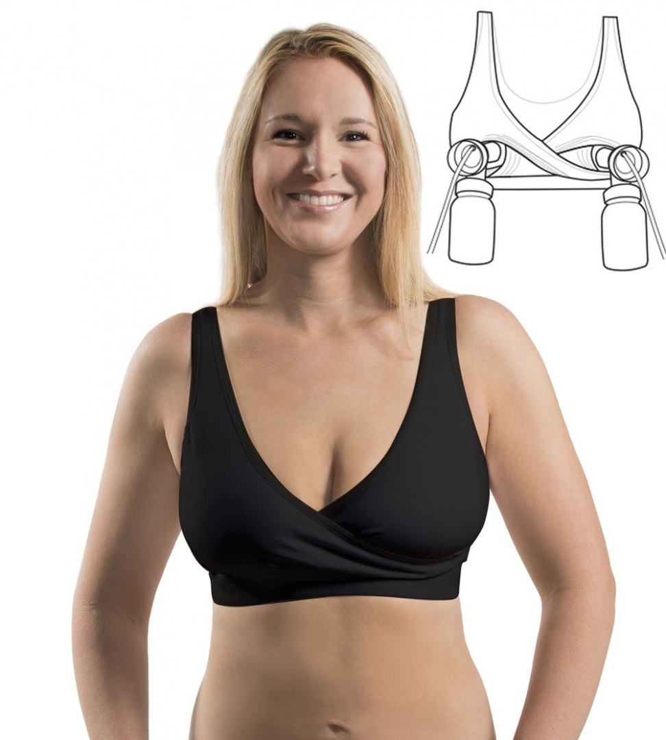 bc80cd322aef1 Rumina s Relaxed Nursing Bra with a built-in Hands-Free Pumping Bra by  Rumina - Shop Online for Baby in New Zealand