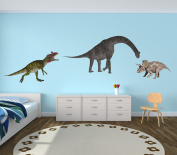 Dinosaur Wall Stickers, Peel and Stick Decals, Repositionable