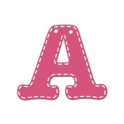 CoCaLo Mix & Match Pink Hanging Letter, A